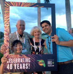 2018 SWANA FL Summer Conference Bob Hyres, Waste Pro Joan Hyres Karam Singh, HDR Wei Liu, CDM Smith